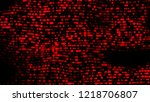 decorative disco led lights... | Shutterstock . vector #1218706807