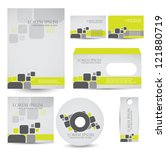 corporate identity kit | Shutterstock .eps vector #121880719