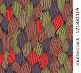 graphic element. seamless. | Shutterstock .eps vector #121881109