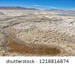 bolivia  salar de uyuni  aguas...   Shutterstock . vector #1218816874