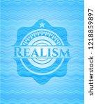 realism light blue water style...   Shutterstock .eps vector #1218859897