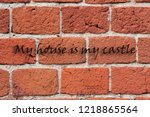 Red Brick Wall With A Known...