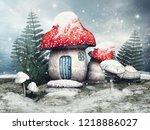 Snowy Scene With A Fairy...