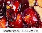 sweets soft candy nougat... | Shutterstock . vector #1218925741