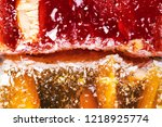 sweets soft candy nougat... | Shutterstock . vector #1218925774