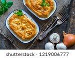 steak and mushroom pies   top...   Shutterstock . vector #1219006777