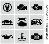automotive,black,car,check,clip art,dashboard,design,diagnostic,element,engine,fix,graphic,hood,icon,interface