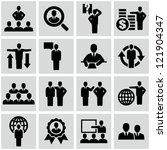 business persons  businessman ... | Shutterstock .eps vector #121904347