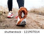 Walking Or Running Legs Sport...
