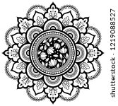 circular pattern in form of... | Shutterstock .eps vector #1219088527