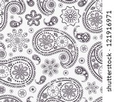 vector illustration of seamless ... | Shutterstock .eps vector #121916971