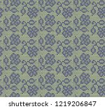 seamless pattern imitating lace ...   Shutterstock .eps vector #1219206847