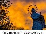 Saint Maria Statue At The...