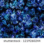 paisley seamless pattern with... | Shutterstock . vector #1219260244