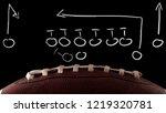 american football tactics... | Shutterstock . vector #1219320781