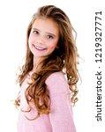 portrait of adorable smiling...   Shutterstock . vector #1219327771