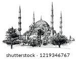 Hagia Sophia  Istanbul. Hand...