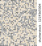 seamless pattern with confetti...   Shutterstock .eps vector #1219365304