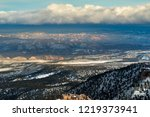 beautiful landscape of bryce... | Shutterstock . vector #1219373941