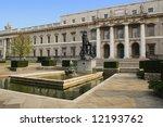 Department of Education in Dublin, Ireland. - stock photo