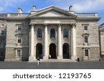 The Chapel in Dublin University. - stock photo