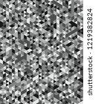 seamless triangular pattern... | Shutterstock .eps vector #1219382824