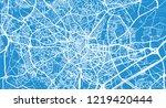 urban vector city map of... | Shutterstock .eps vector #1219420444