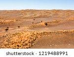 dunes of the namib desert ... | Shutterstock . vector #1219488991