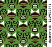 vector illustration. african... | Shutterstock .eps vector #1219533991