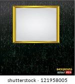frame for picture vector | Shutterstock .eps vector #121958005