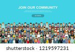 Join Our Community. Crowd Of...