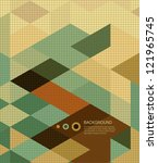 abstract background  book cover ... | Shutterstock .eps vector #121965745