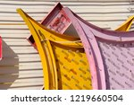 abandoned old neon signs in las ...   Shutterstock . vector #1219660504