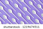 flay lay photo of white plastic ... | Shutterstock . vector #1219674511