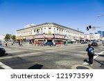 los angeles   july 06  midday... | Shutterstock . vector #121973599
