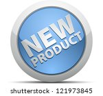 new product label | Shutterstock . vector #121973845