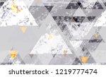 tech geometric camouflage... | Shutterstock .eps vector #1219777474
