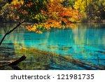 Lake In Jiuzhaigou National...