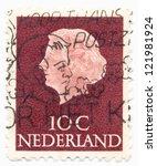 netherlands   circa 1953  a... | Shutterstock . vector #121981924