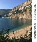 cap d ail beach  france  | Shutterstock . vector #1219852207
