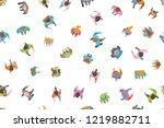 seamless vector pattern. a... | Shutterstock .eps vector #1219882711