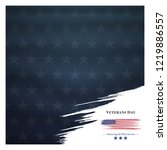 veterans day  november 11 ... | Shutterstock .eps vector #1219886557