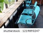 interior and decoration bar... | Shutterstock . vector #1219893247