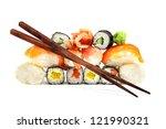 sushi | Shutterstock . vector #121990321