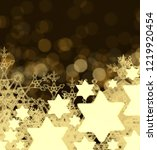 abstract snowflakes. 2d... | Shutterstock . vector #1219920454