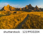 beautiful landscapes in... | Shutterstock . vector #1219933204