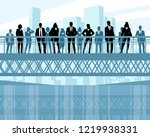 vector illustration of... | Shutterstock .eps vector #1219938331