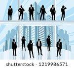 vector illustration of business ...   Shutterstock .eps vector #1219986571