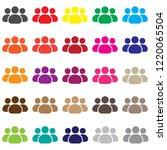 man group vector icon   Shutterstock .eps vector #1220065504