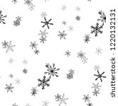 snowflakes. seamless holiday... | Shutterstock .eps vector #1220132131